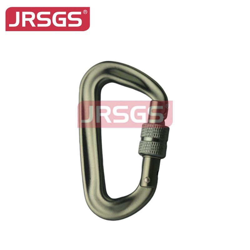aluminum carabiner screw lock